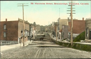 Bracebridge Manitoba Street 1910