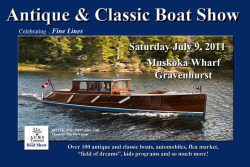The 31st Annual Antique and Classic Boat Show