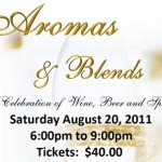 Aromas & Blends Celebrating Wine Beer Spirits