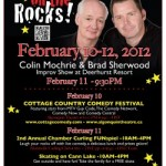 Comics on the Rocks – Muskoka Comedy Festival