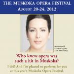 Muskoka Opera Festival at Rene Caisse Theatre