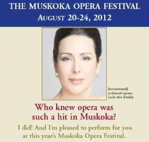 Muskoka Opera Festival