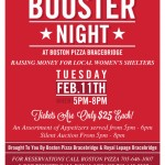 Booster Night at Boston Pizza