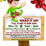 WRAP IT UP Christmas Toy, Craft & Gift Sale