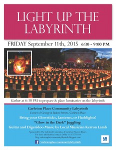 7th Annual Harvest Lantern Labyrinth Walk 1