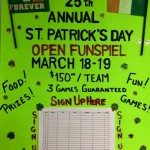 St Patrick's Day Bonspiel