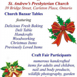 St. Andrew's Fall Craft Fair and Bazaar