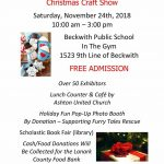 Beckwith Township Christmas Craft Show
