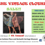 3rd Annual Vintage Clothing Sale