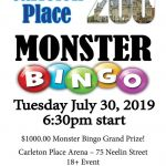 Carleton Place 200 Monster Bingo