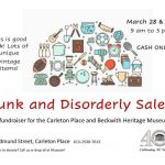 Junk and Disorderly: Fundraising Sale