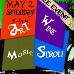 Art & Wine Stroll May 2015