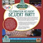 Celebration Resident Dessert Party