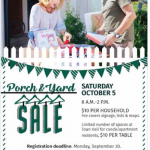 Porch & Yard Sale