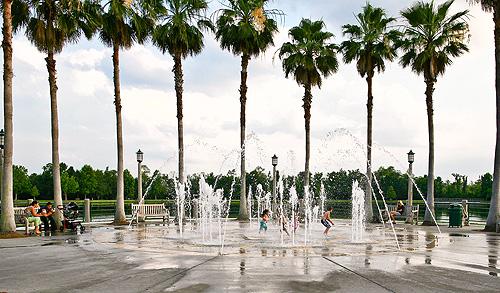 Celebration Water Fountain