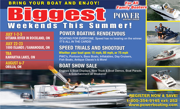Power Boating Rendez-Vous