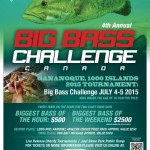 1000 Islands Big Bass Challenge 2015