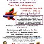 Chalk the walk – Sidewalk Chalk Festival