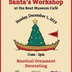 Santa's Workshop at the Boat Museum Cafe