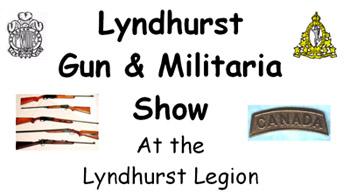 lyndhurst Gun & Militaria Show At the Lyndhurst Legion