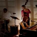 Pamela York Playing at Cezanne's