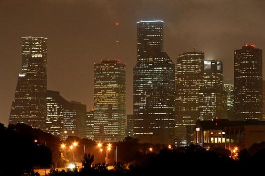 Houston Montrose Skyline