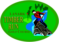 Lanark Timber Rung Golf Logo