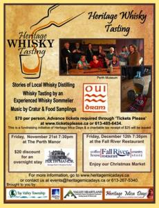 Heritage Whisky Tasting