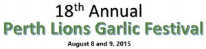 18th Annual Perth Garlic Festival