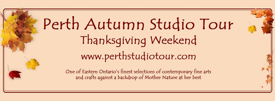 PERTH AUTUMN STUDIO TOUR 10-12th October