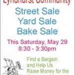 Lyndhurst Village Wide Street Sale