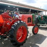Athens Steam Fair Farmsville Tractor Show