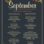 September Events at The Cove