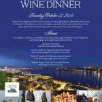 French Canadian Wine Dinner