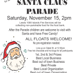 Lyndhurst Santa Clause Parade
