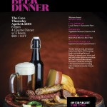Perth Brewery Beer Dinner @ The Cove