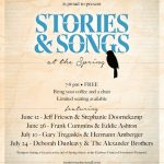 Stories and Songs   Westport Arts Council