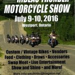 Rideau Thunder Motorcycle Show – Village of Westport
