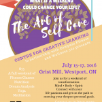 Special! The Art of Self Care Weekend in Westport