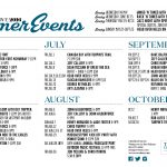 JULY EVENTS @ The Cove