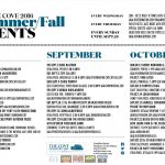 OCTOBER EVENTS @ the Cove