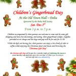 Children's Gingerbread Day