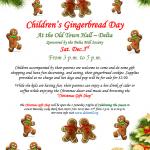 Children's Gingerbread Day