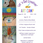 Art camp by Westport Arts Council