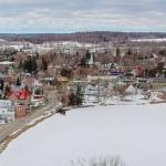 Public Skating in Westport's village