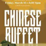 Chinese Buffet !