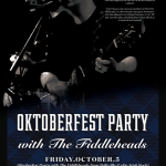 Oktoberfest Party with THE FIDLLEHEADS