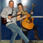 Brea Lawrenson with Shawn McCullough at the Cove Inn!