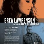 Brea Lawrenson with Shawn McCullough at the Cove!