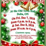 Festive Christmas Market at the Old Town Hall